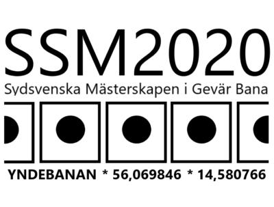 Sydsvenska Mästerskapen 300m bana 5 juli 2020 på Yndebanan/Sölvesborg